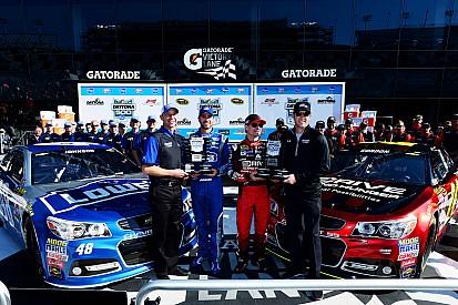 Jeff Gordon on pole for 2015 Daytona 500, edging Jimmie Johnson