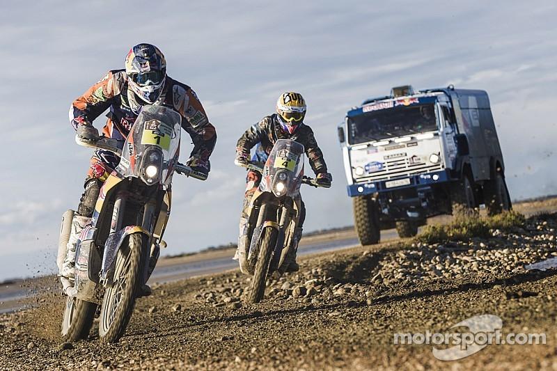 Los contendientes del Dakar están listos