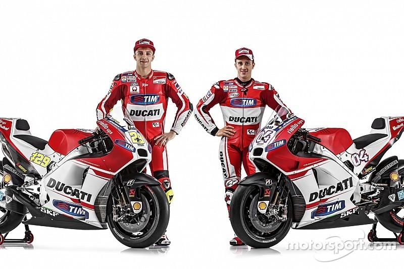 Ducati unveils new GP15 machine in online presentation
