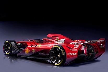 Ferrari reveals radical F1 concept car