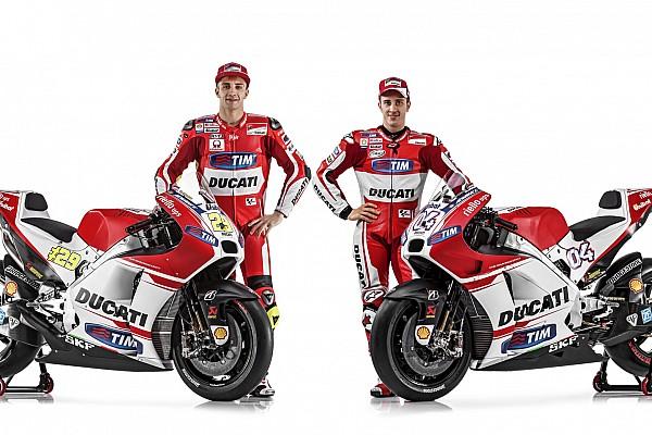 MotoGP Ducati presenta su nueva GP15 por Internet