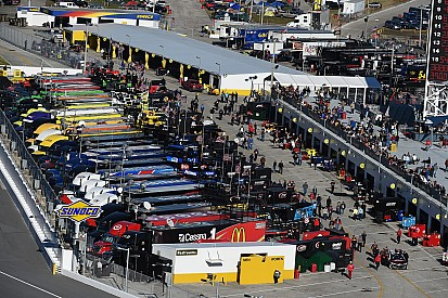 Mother Nature can't keep NASCAR crews grounded in North Carolina
