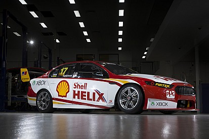 Marcos Ambrose new livery a blast from the past