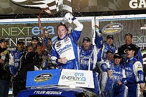NASCAR Truck Race report Reddick earns first Truck win at Daytona
