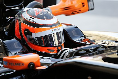 Hulkenberg clocked his first miles of 2015 in the final day of testing in Barcelona