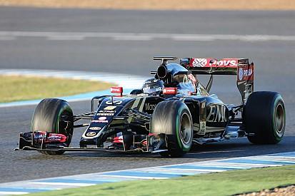 Lotus da una sólida primera prueba en Barcelona