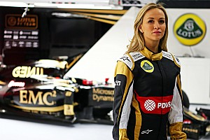 Formula 1 Breaking news Carmen Jorda joins Lotus as development driver