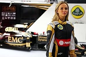 Formula 1 Breaking news Carmen Jorda joins Lotus as development driver