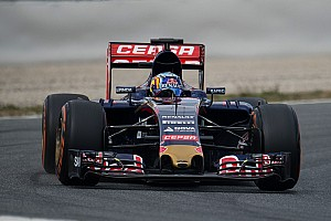 Formula 1 Testing report Carlos Sainz Jr. tests Toro Rosso updates on day one back at the Catalunya circuit