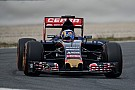 Carlos Sainz Jr. tests Toro Rosso updates on day one back at the Catalunya circuit