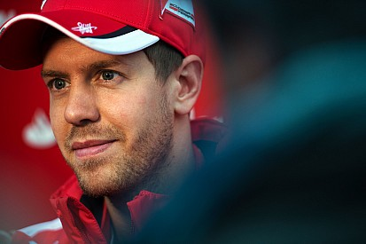 Vettel says he didn't see start of Alonso accident