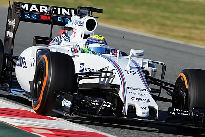 Massa beats Kimi on third morning of Barcelona test
