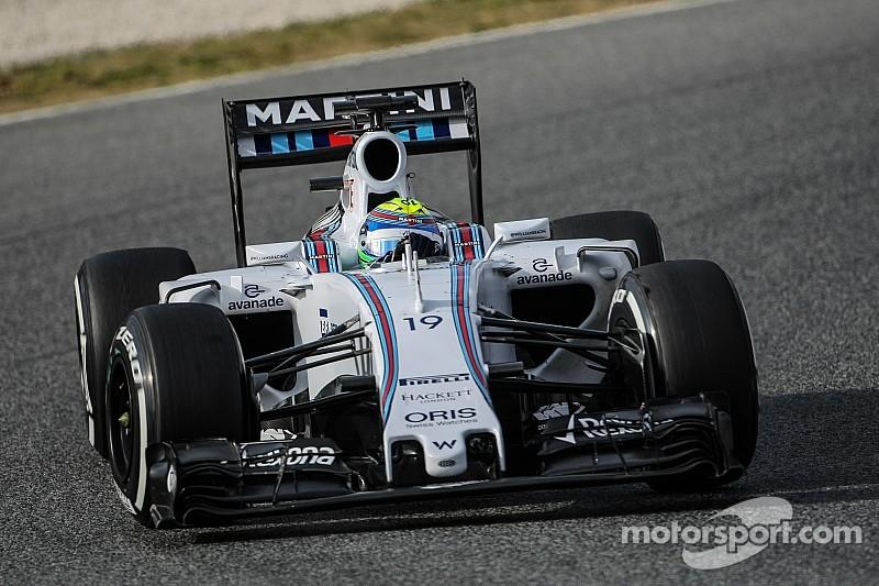 Massa vence a Kimi en la tercera mañana de Barcelona