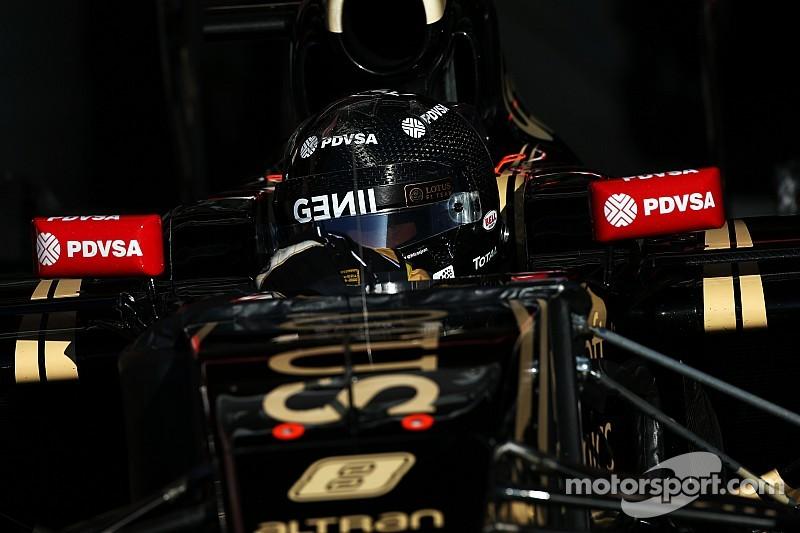 """Aún podemos mejorar"", Romain Grosjean"
