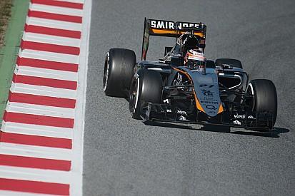 Force India logra más de 700 kilómetros