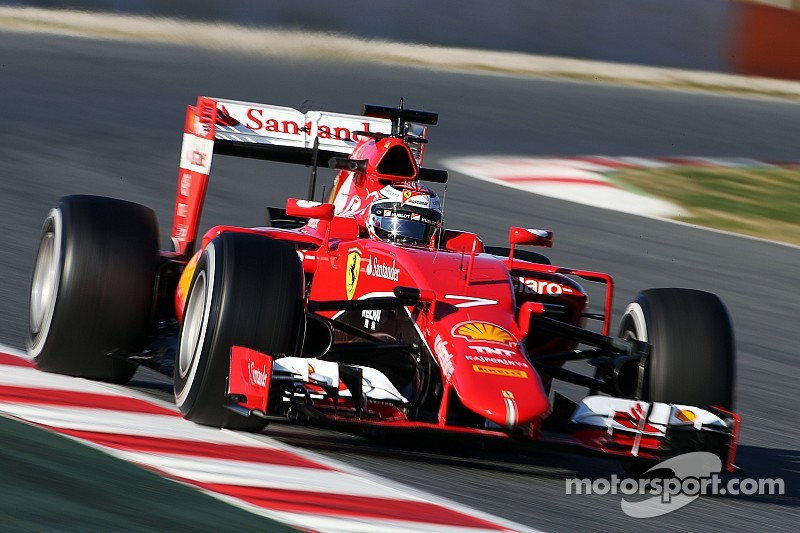 Ferrari happy to get its first race distance of the winter done today at Barcelona