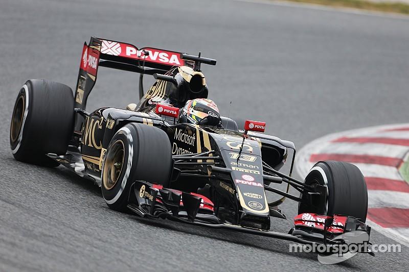 Пастор Мальдонадо вернул Lotus лидерство по итогам третьего тестового дня в Барселоне