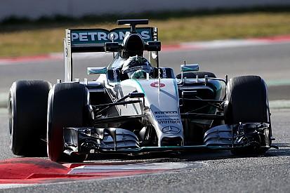 Нико Росберг показал истинную силу Mercedes на тестах в Барселоне