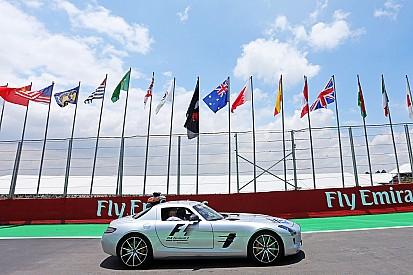 Presentan nuevo safety car de Fórmula Uno