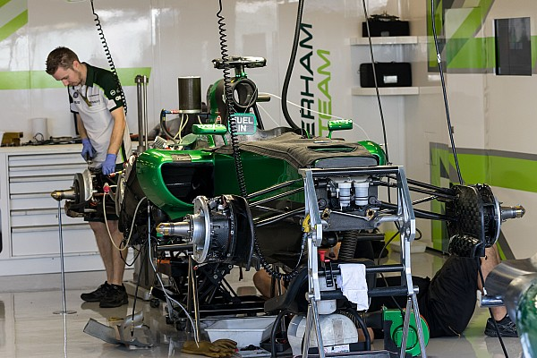 Caterham equipment being auctioned off