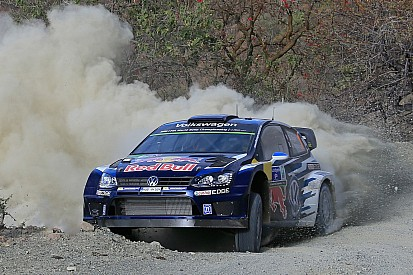 Ogier leads after crash-strewn morning in Mexico