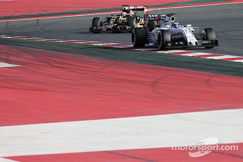 Мальдонадо: Williams быстрее Lotus, но отставание невелико