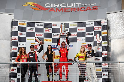 Olivier Beretta makes his Pirelli World Challenge season opener count