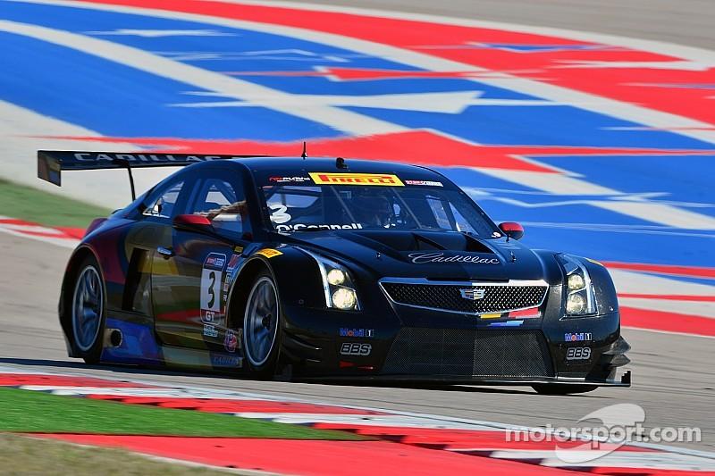O'Connell drives new Cadillac ATS-V.R to third at COTA