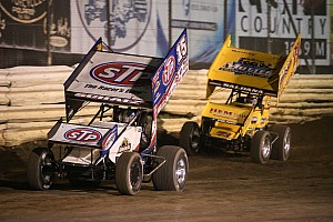 World of Outlaws Race report Brian Brown beats Outlaws at USA Raceway to score second ever series win
