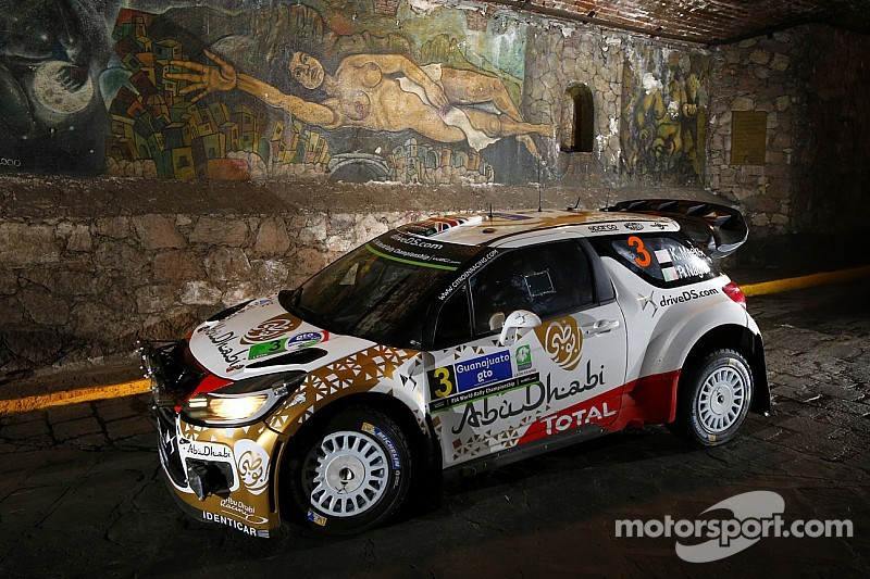 Mads Østberg and Jonas Andersson finished as runners-up at Rally Mexico