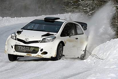 Toyota продолжает работу над Yaris WRC