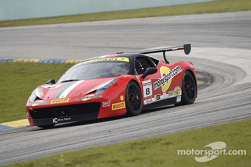 Trophies and champagne showers for Ferrari of Fort Lauderdale