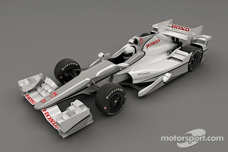Honda presenta su kit aerodinámico para IndyCar