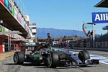 Перед стартом: Mercedes AMG Petronas F1 Team