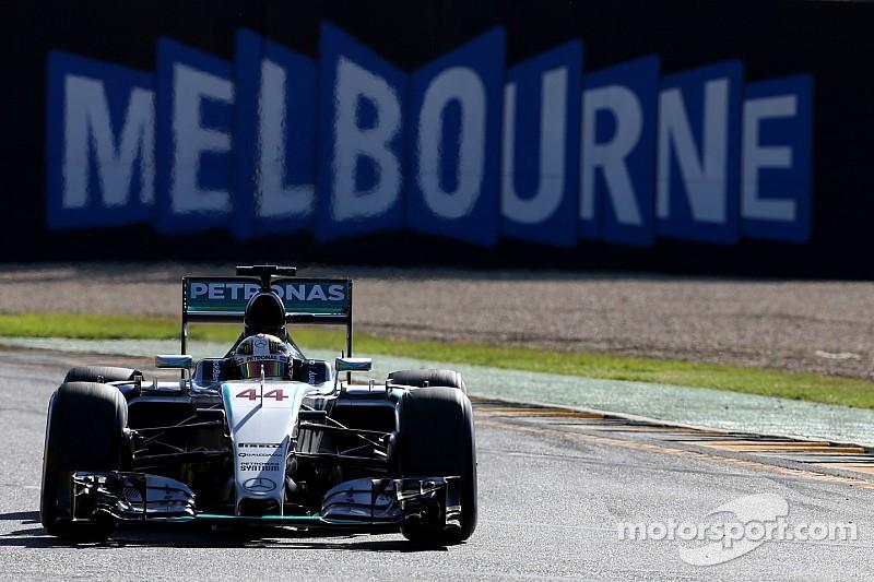 Lewis Hamilton dominates final F1 practice session in Melbourne