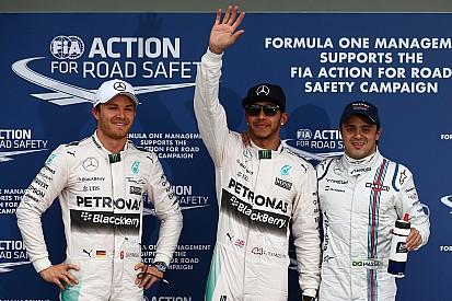 Hamilton storms to Australian GP pole