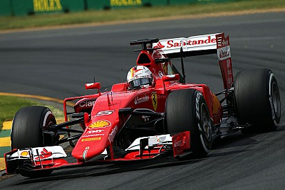 Second and third rows of the grid for Ferrari drivers on tomorrow's Australian GP