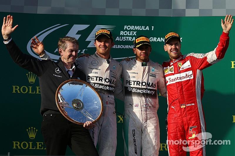 Hamilton estuvo al nivel de un campeón del mundo: Rosberg
