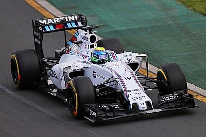 Williams falla en su intento por el podio