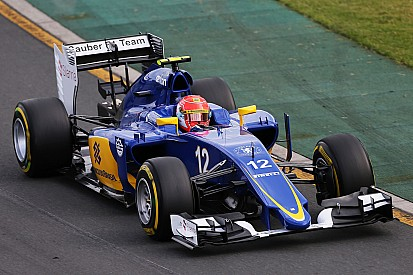 """Sauber """"relieved"""" after difficult weekend"""
