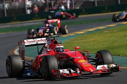 No penalty for Ferrari, Raikkonen