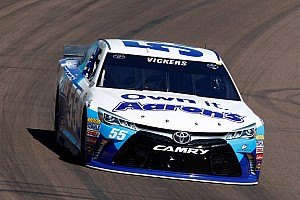 NASCAR Cup Race report Vickers sidelined early at Phoenix
