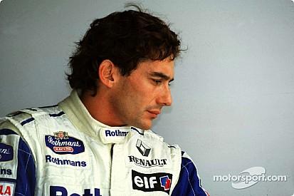 Enchères exclusives de racewear Ayrton Senna à Silverstone