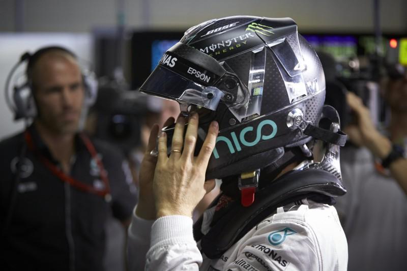 Wegen 0,002 Sekunden: Rosberg wechselte Helm von Gelb auf Schwarz