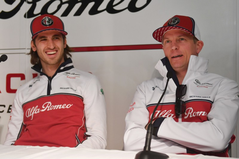 """Nicht ganz fair"": Räikkönen verteidigt Giovinazzi gegen Kritik"