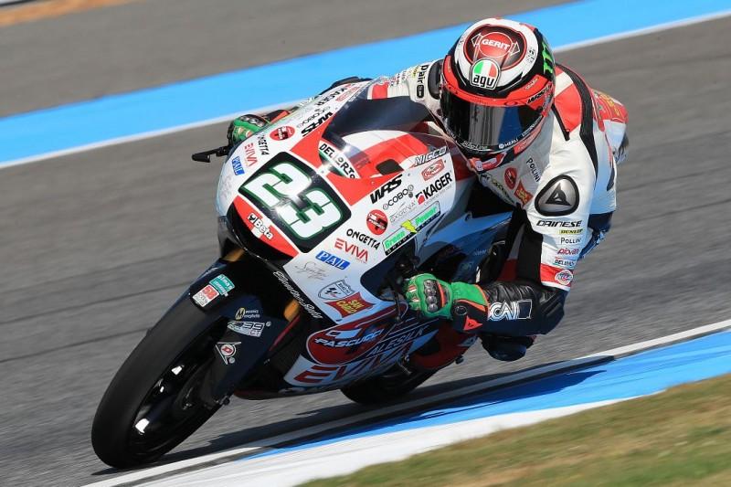 Moto3 Jerez: Niccolo Antonelli schiebt sich im FT2 an die Spitze