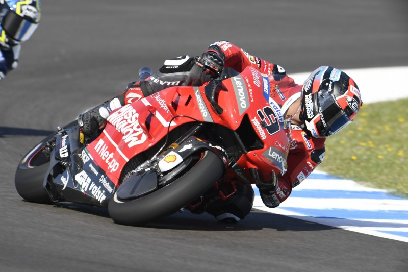 MotoGP Jerez FT2: Petrucci schnappt Marquez die Tagesbestzeit weg