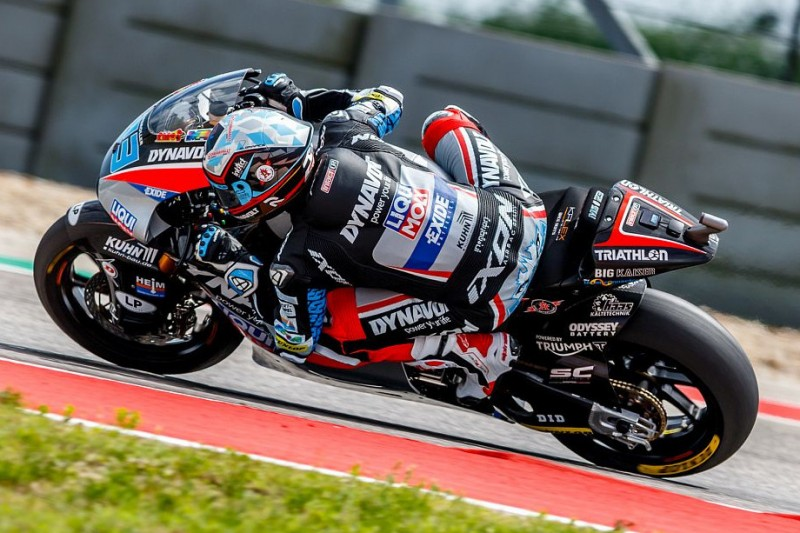 Moto2 in Jerez: Marcel Schrötter in windigem FT2 Schnellster