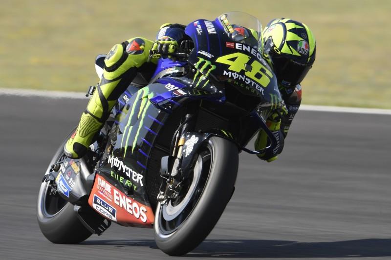 """Rossi fährt in Jerez hinterher und rätselt: """"Hier ist alles schwieriger"""""""