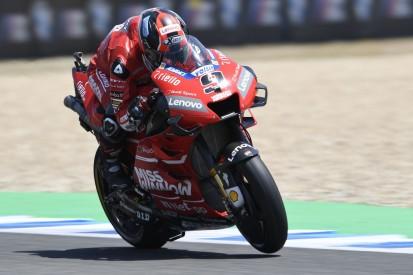 MotoGP Jerez FT3: Rundenrekord von Petrucci, Rossi und Vinales in Q1
